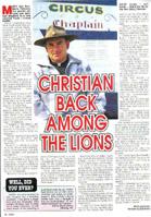 Christian Among Lions